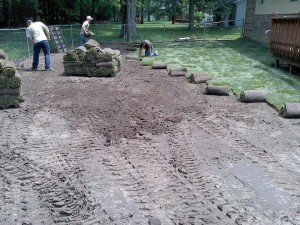 how to lay sod, diy sod installation